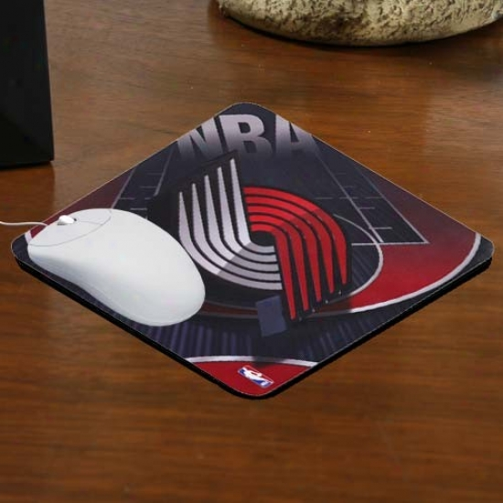 Portland Trail Blazers Team Logo Neoprene Mousepad