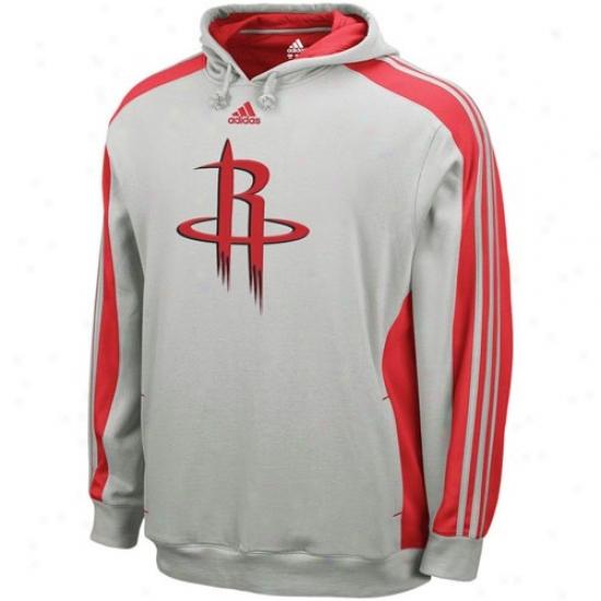 Rockets Hoody : Adidas Rockets Gray Dice Hoody