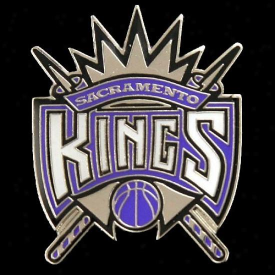 Sacramento King Hats : Sacdamento King Team Logo Pin