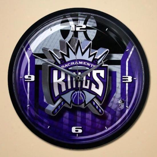 Sacramento Kings 12'' Wall Clock
