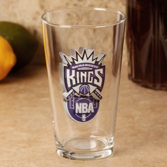 Sacramento Kings 17 Oz. Enhanced Hi-def Mixing Glass