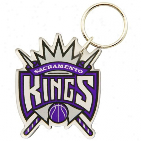 Sacramento Kings High Definition Keychain