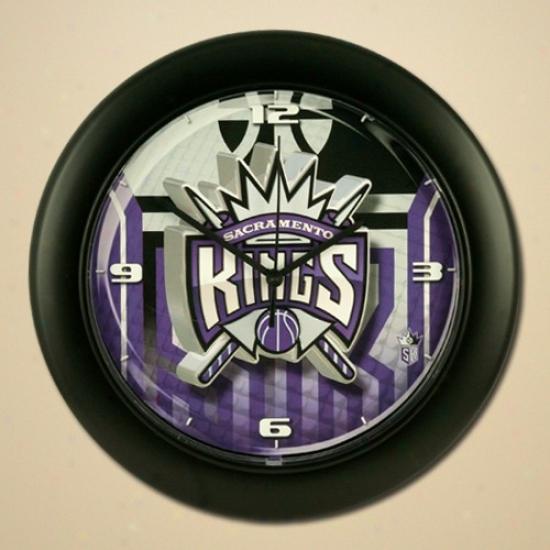 Sacramento Kings High Definition Wall Clock