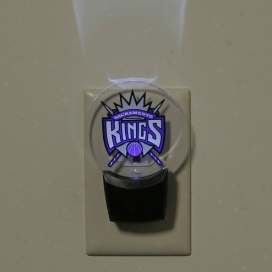 Sacramento Kings Led Nifht Light
