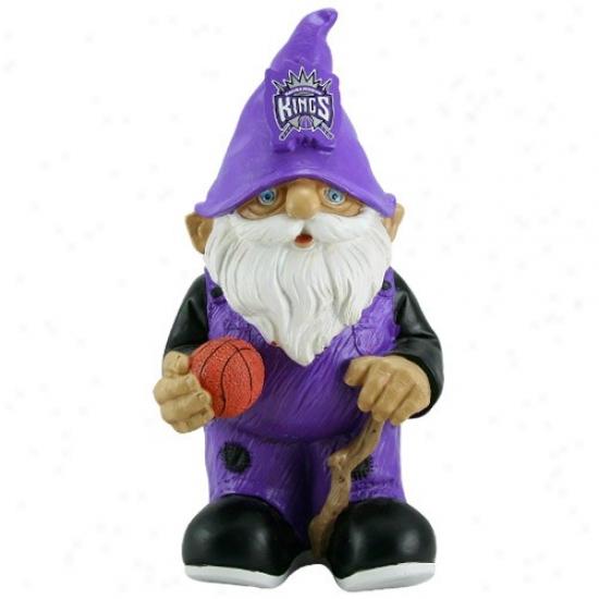 Scaramento Kings Mini Basketball Gnome Figurine