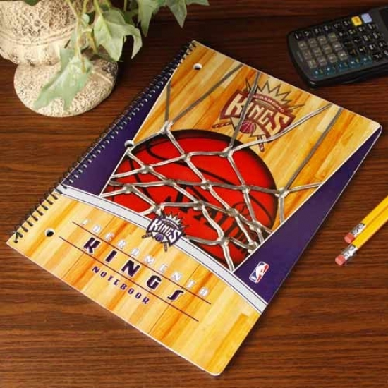 Sacramento Kings Notebook