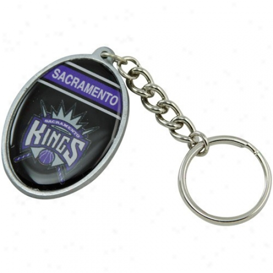 Sacramento Kings Oval Keychain