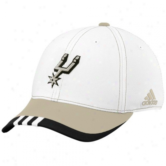 San Antonio Spur Cap : Adidas San Antonio Spur Happy On Court Flex Fit Acme