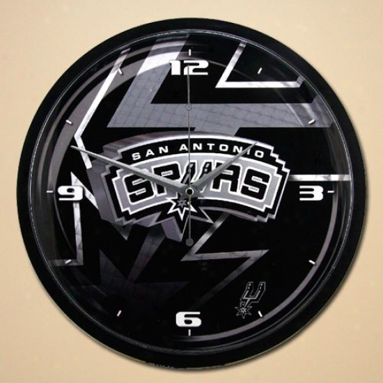 San Antonio Spurs 12'' Wall Clock