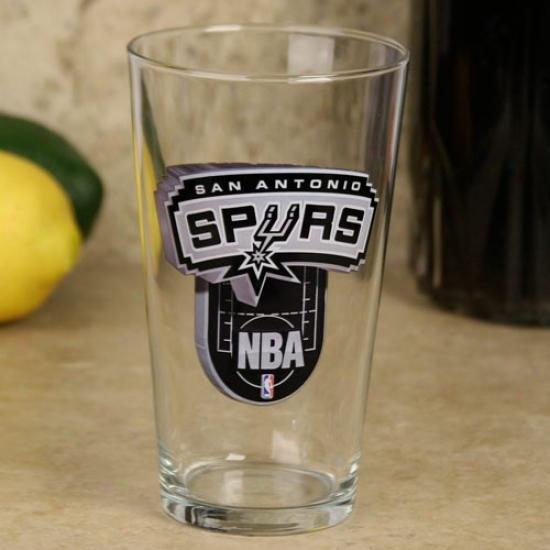San Antonio Spurs 17 Oz. Enhanced Hi-dsf Mixing Glass