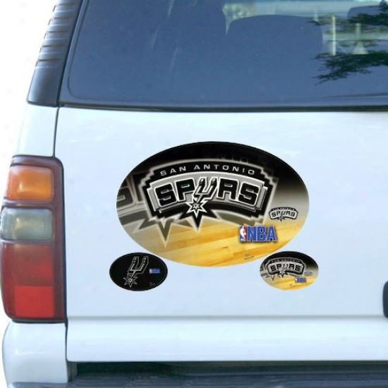 San Antonio Spurs 3-pack Magnet Set
