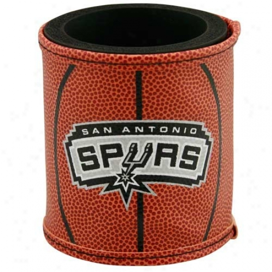 San Antonio Spurs Basketball Can Coolie