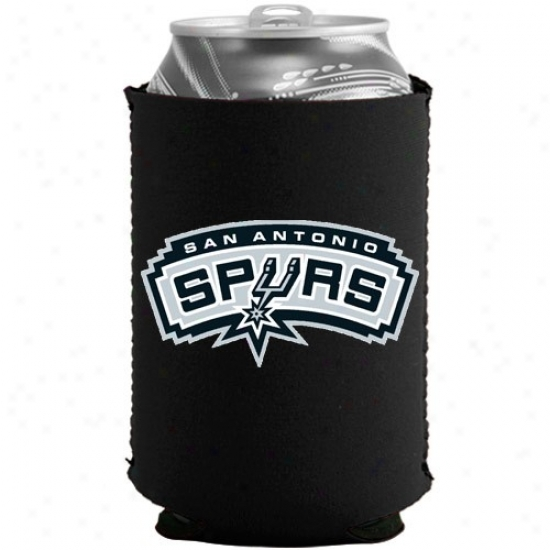 San Antonio Spurs Black Collapsible Caan Coolie