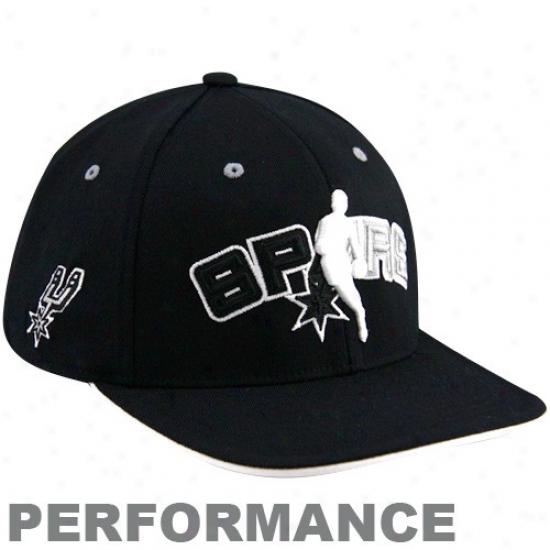 San Antonio Spurs Caps : Adidas San Antonio Spurs Murky Official Draft Sunshine Fitted Caps