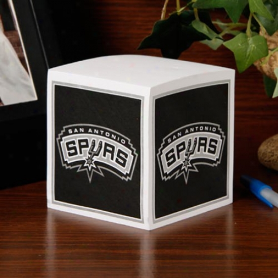 San Antonio Spurs Note Cue