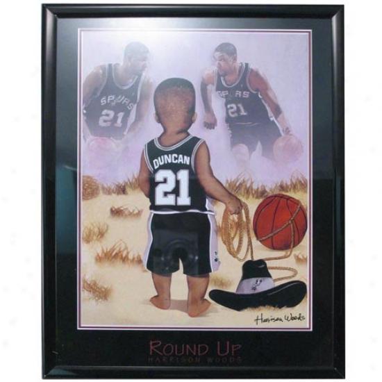 San Antonio Spurs Tim Duncan Rouund Up Picture