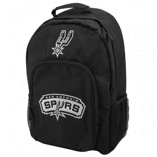 San Antonio Spurs Youth Black Southpaw Backpack