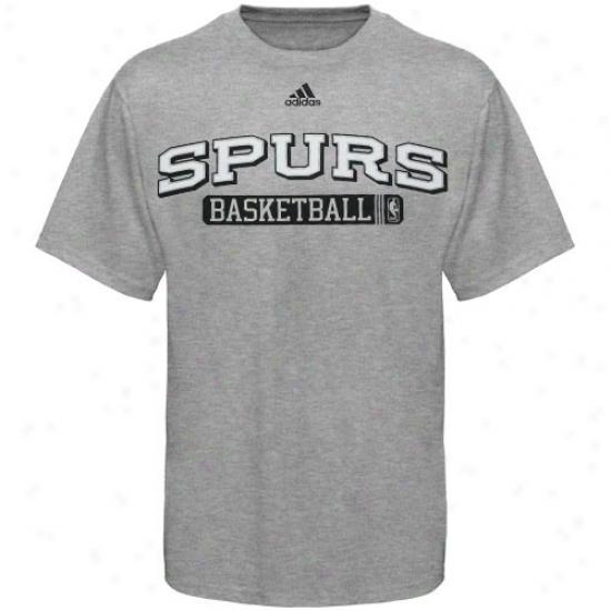Spurs Tee : Adidaas Spurs Ash Kappa Sigma Tee