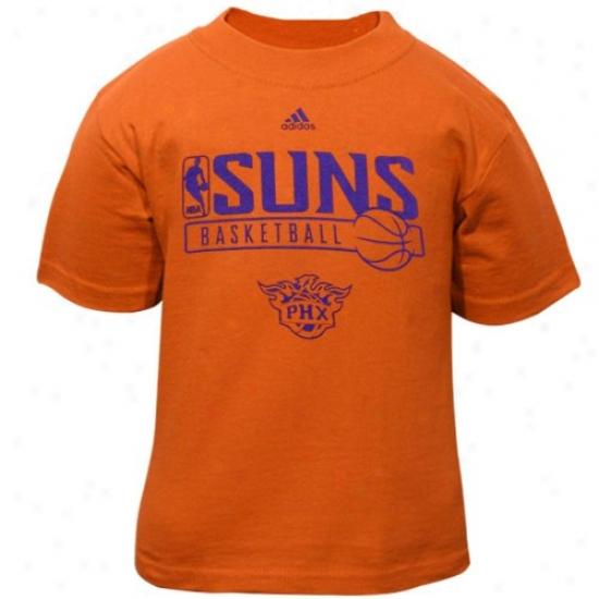Suns Shirt : Adidas Suns Toddler Orange Primary Logo Shirt