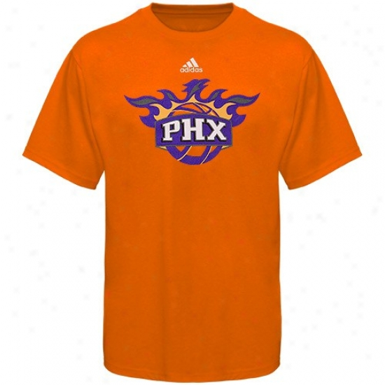 Suns Shirt : dAidas Suns Youth Orange Primary Logo Shirt