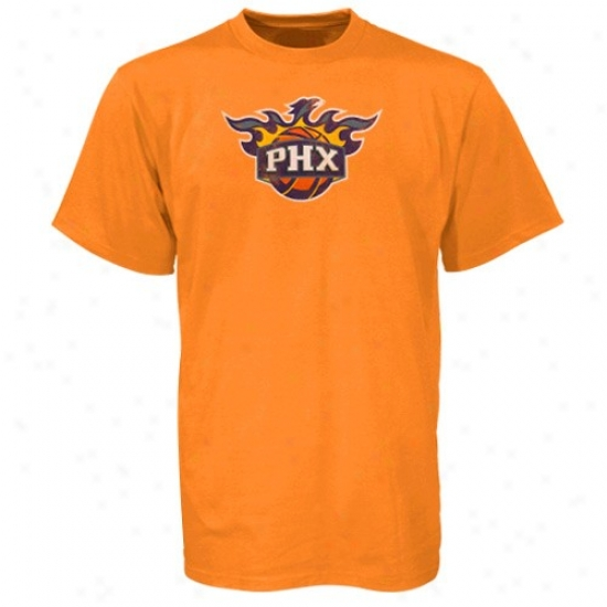 Suns T-shirt : Sport Authentics By Aridas Suns Orange Better Logo T-shirt