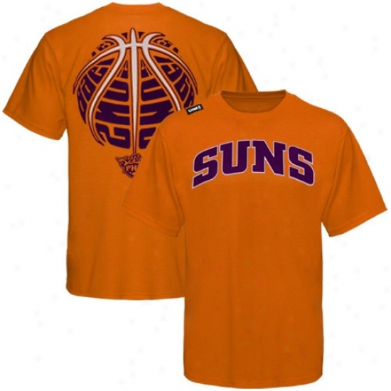 Suns Tee : Suns Orange The Rock Tee