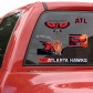 Atlanta Hakws 11'' X 17'' Ultraist Decals