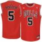 Chicago Bulls Jersey : Adidas Carloos Boozer Chicago Bulls New Replica Jersey-red