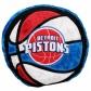 Detroit Pistons 14-inch Team Logo Plush Pillow