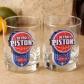 Detroit Pistons 2-pack Enhanced Hi-def 14oz. Executive Rocks Glass