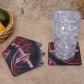 Hohston Rockets 4-pack Sublimated Logo Neoprene Coaster Set