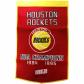 Houston Rockets Red-gold Dynasty Felt Banner