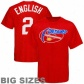 Nuggets Shirt : Majestic Nuggets #2 Alex Englisu Red Secret Payer Throwback Big Sizes Shkrt