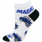 Orlando Magic Ladies White All Over Team Logo Ankle Socks