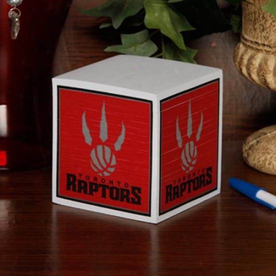 Toronto Raptors Note Cube