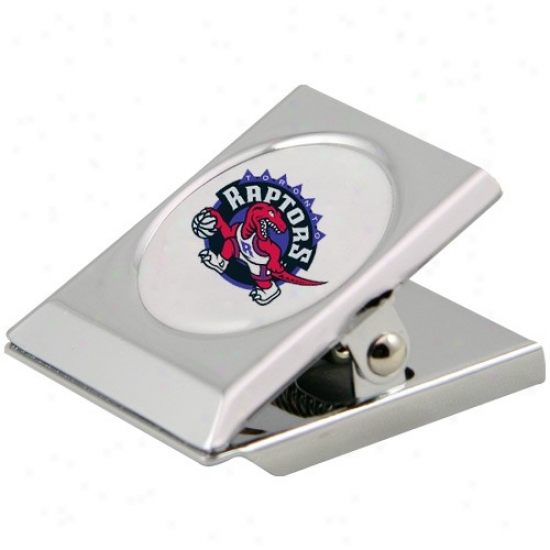 Toronto Raptors Solver Magnetic Heavy Duty Chip Clip