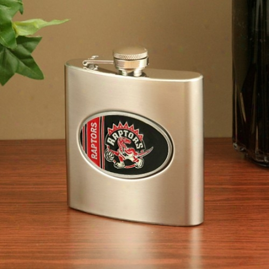 Toronto Raptors Stainless Steel Flask