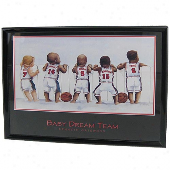 """usa Basketball """"baby Dream Team"""" Picture"""