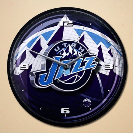 Utah Jazz 12'' Wall Clock