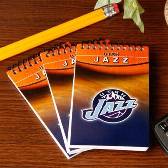 Utah Jazz 3-pack Team Memo Pads
