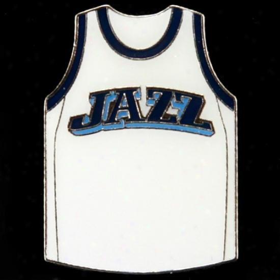 Utah Jazz Cap : Utah Jazz Team Jersey Pin
