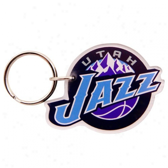 Utah Jazz High Definition Keychain