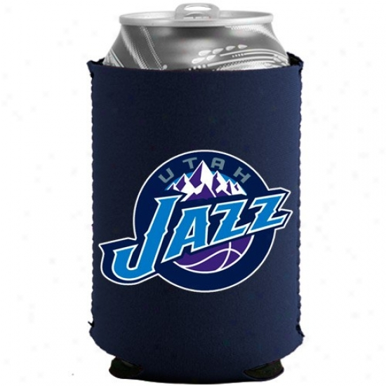 Utah Jazz Navy Blue Collapsible Can Coolie