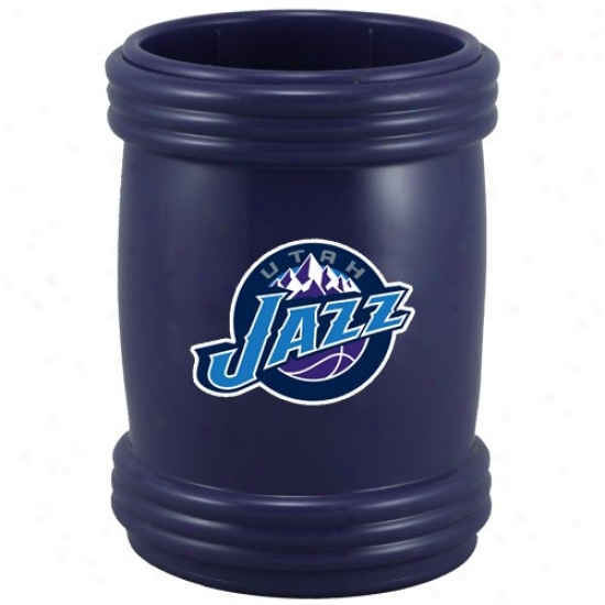 Utah Jazz Ships Blue Magna-coolie Magnetic Beverage Holder