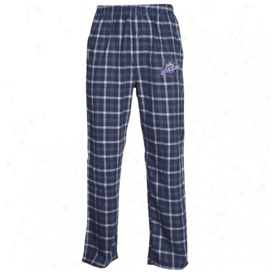 Utah Jazz Navy Blue Tailgate Pajama Pants