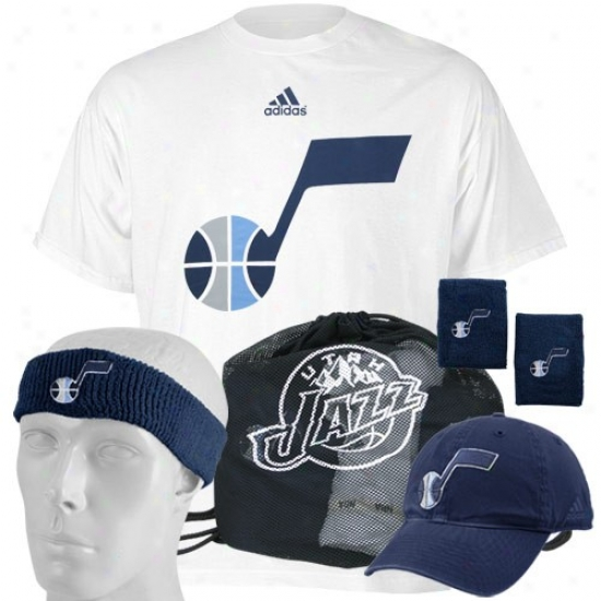 Utah Jazz Shirts : Adidas Utah Jazz Plan Day Value Pack