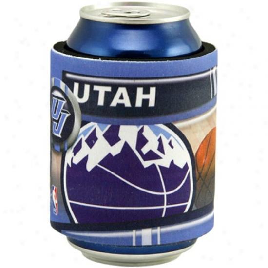 Utah Jazz Slap Wrap Can Coolie