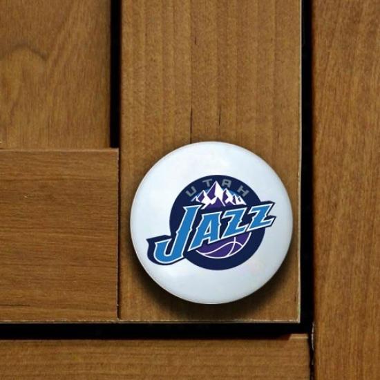 Utah Jazz Team Logo Cabinet Knob
