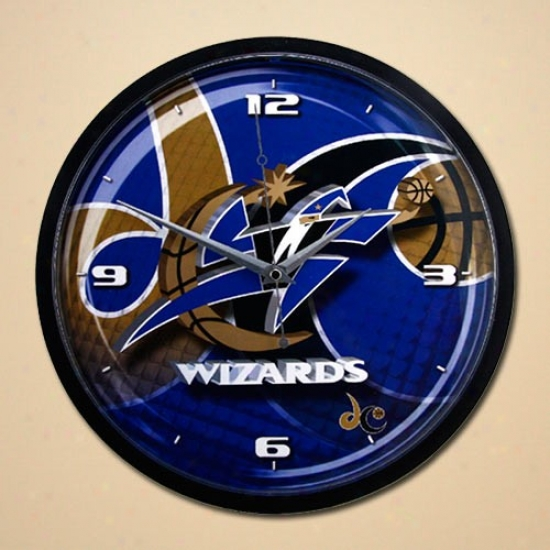 Washington Wizards 12'' Wall Clock