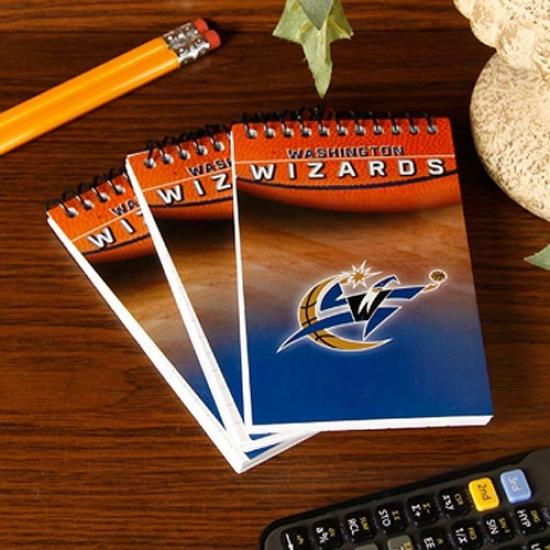 Washington Wizards 3-pack Team Memo Pads